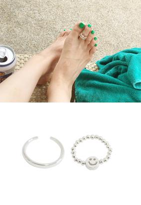 Tip-toe ring