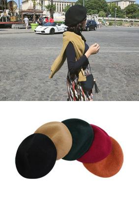 River wool-beret