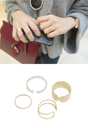 Lager -Ring (4set)