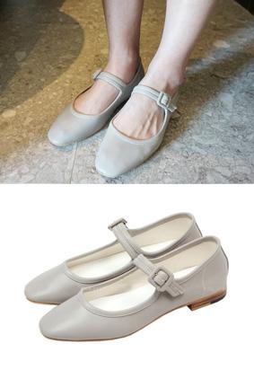 Vanilla shoe -Flat