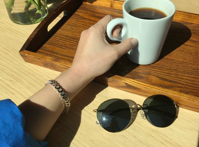 Chain ring -bracelet